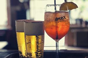 Bier en aperol