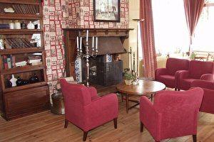 Openhaard lounge